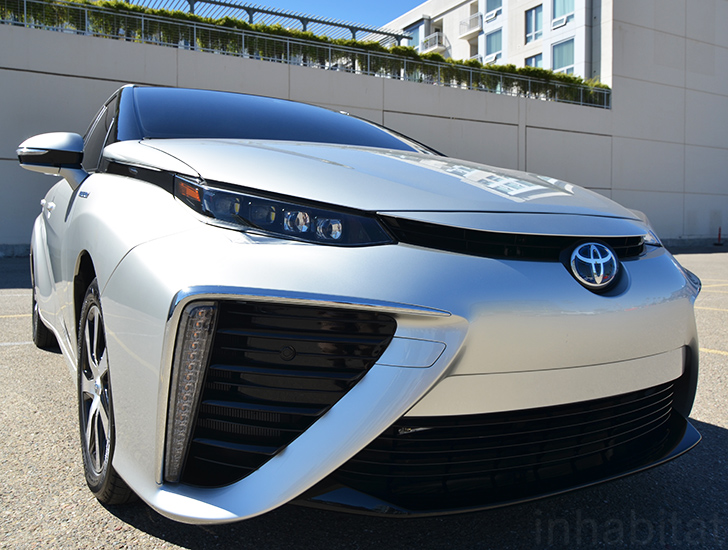 Images of Toyota FCV | 728x550