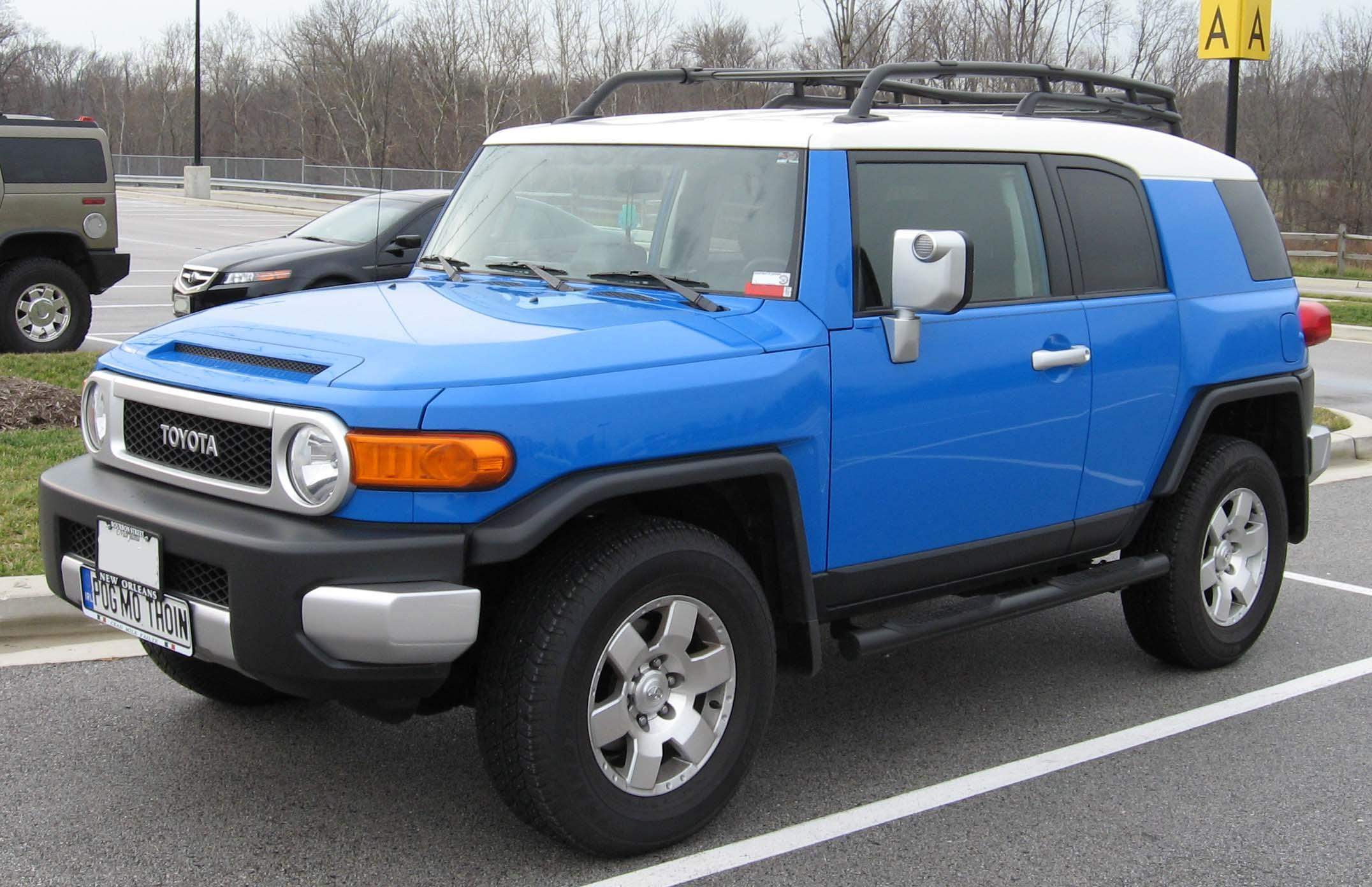 Toyota FJ Cruiser Pics, Vehicles Collection