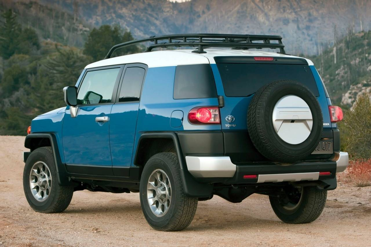 Toyota FJ Cruiser Backgrounds on Wallpapers Vista