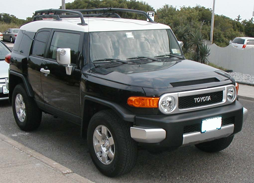 Nice wallpapers Toyota FJ Cruiser 1020x733px