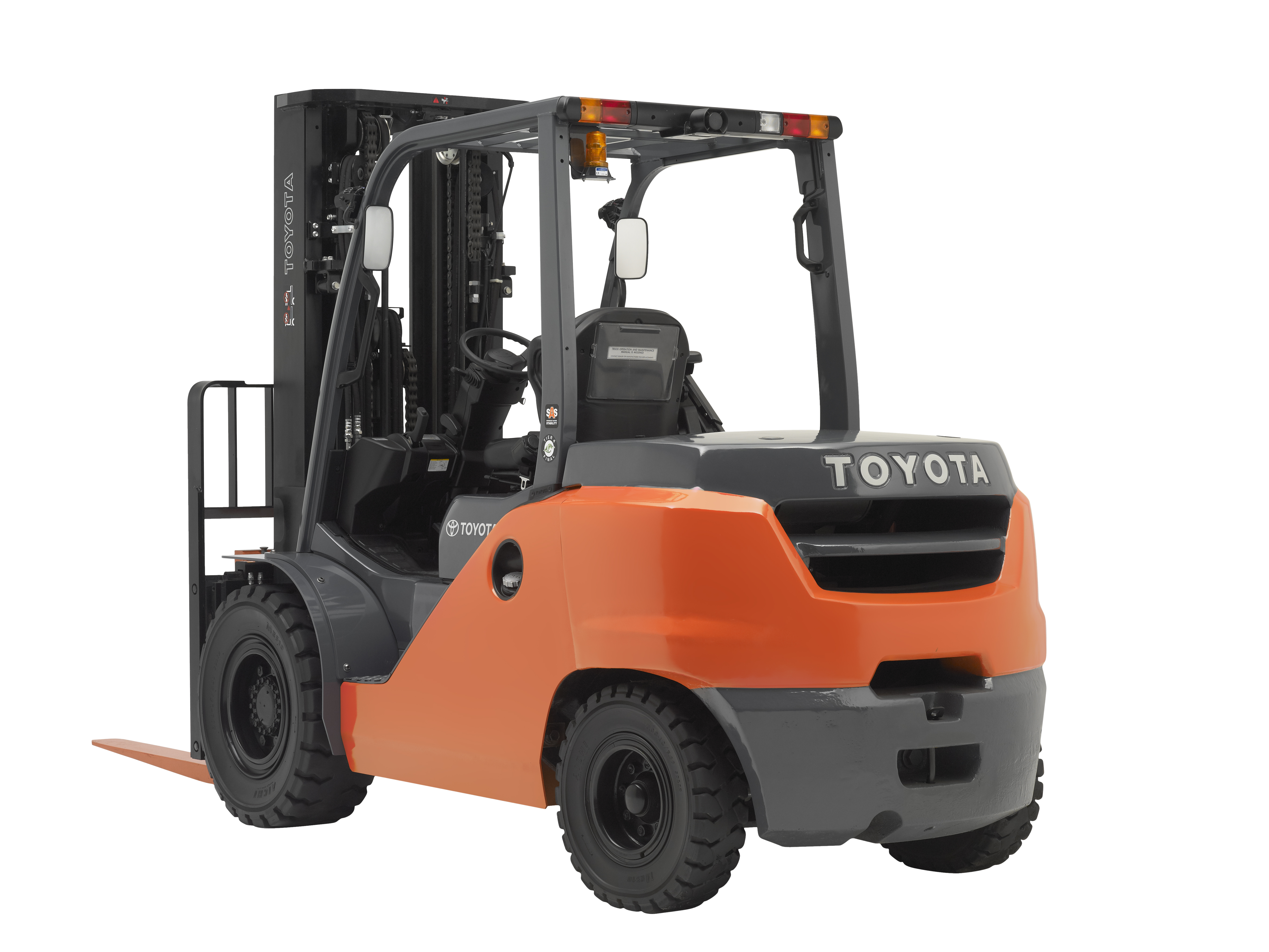 HD Quality Wallpaper   Collection: Vehicles, 5436x4080 Toyota Forklift