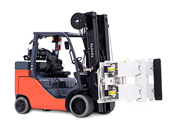 Nice Images Collection: Toyota Forklift Desktop Wallpapers