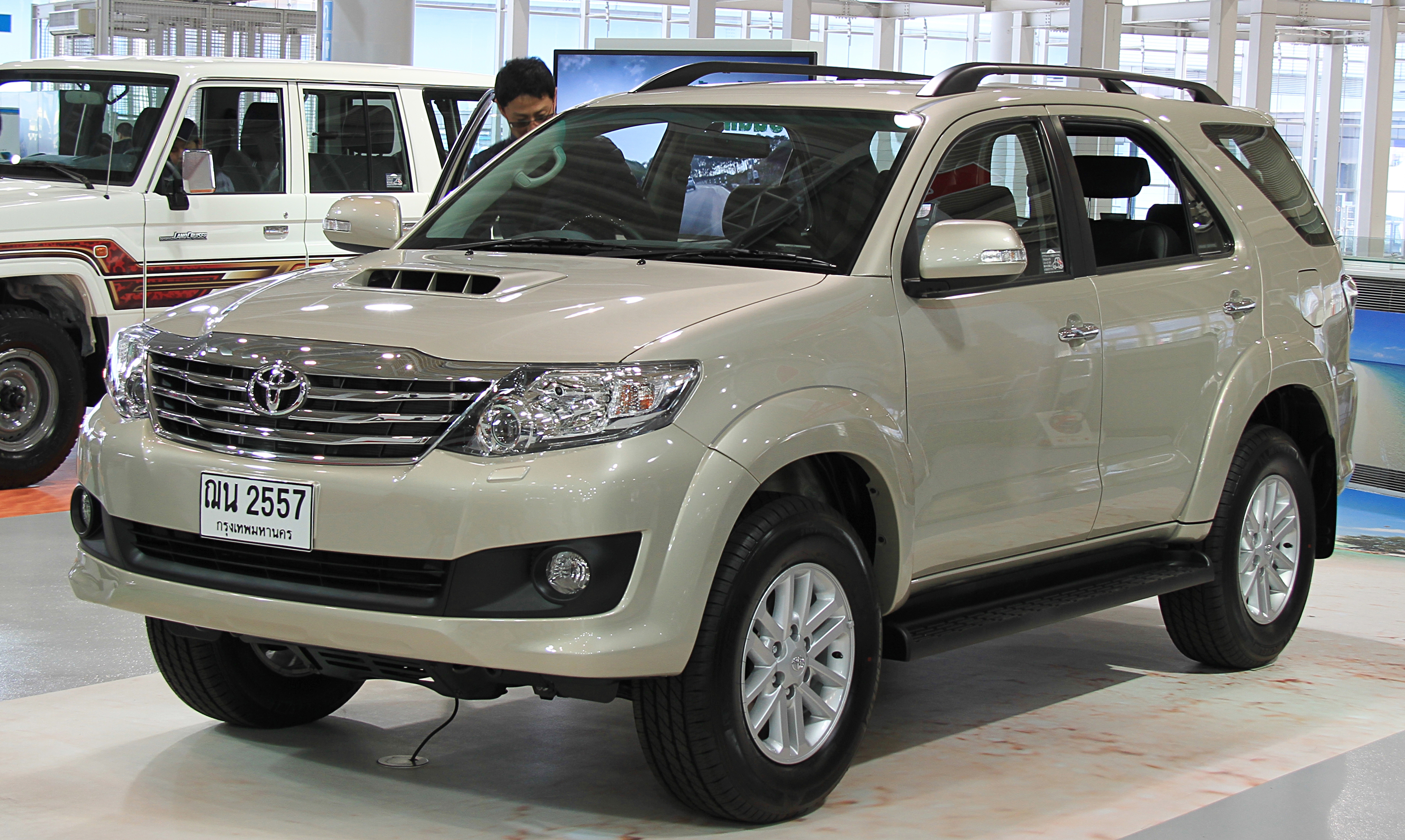 HD Quality Wallpaper | Collection: Vehicles, 3779x2260 Toyota Fortuner