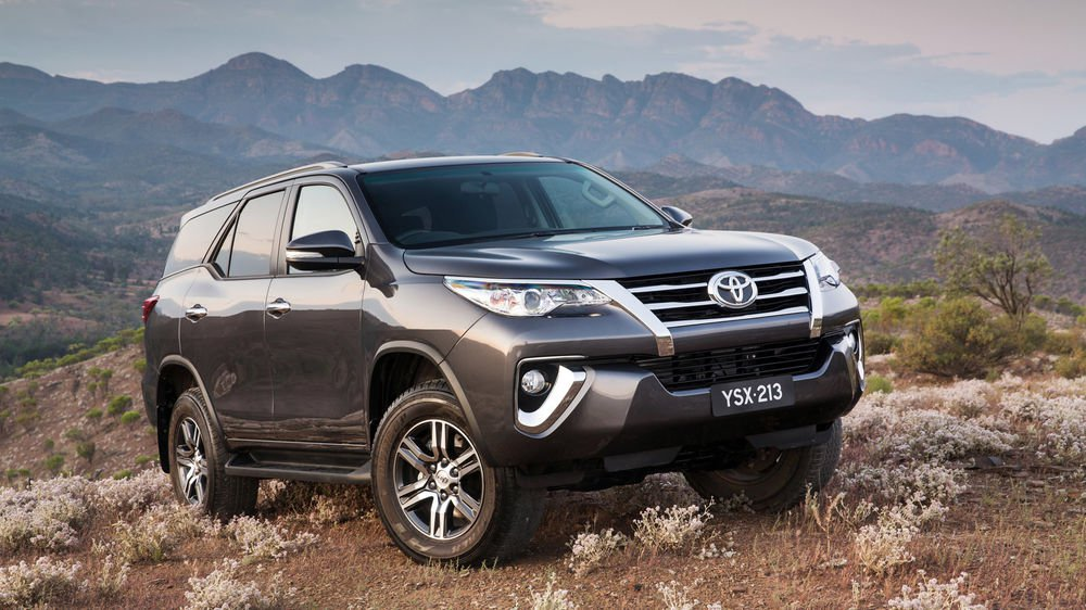 Nice wallpapers Toyota Fortuner 1000x562px