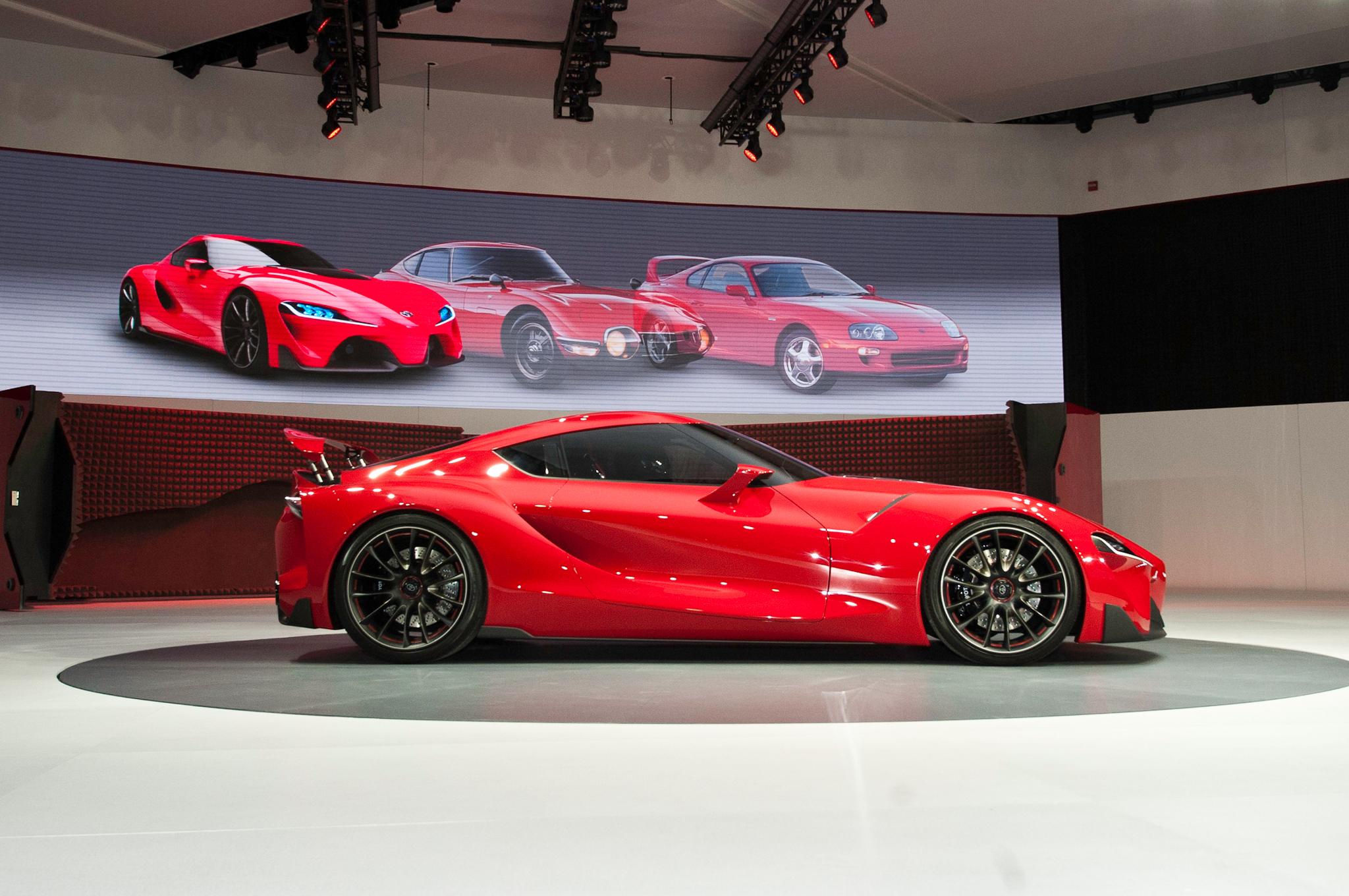 High Resolution Wallpaper | Toyota FT-1 Concept 2048x1360 px