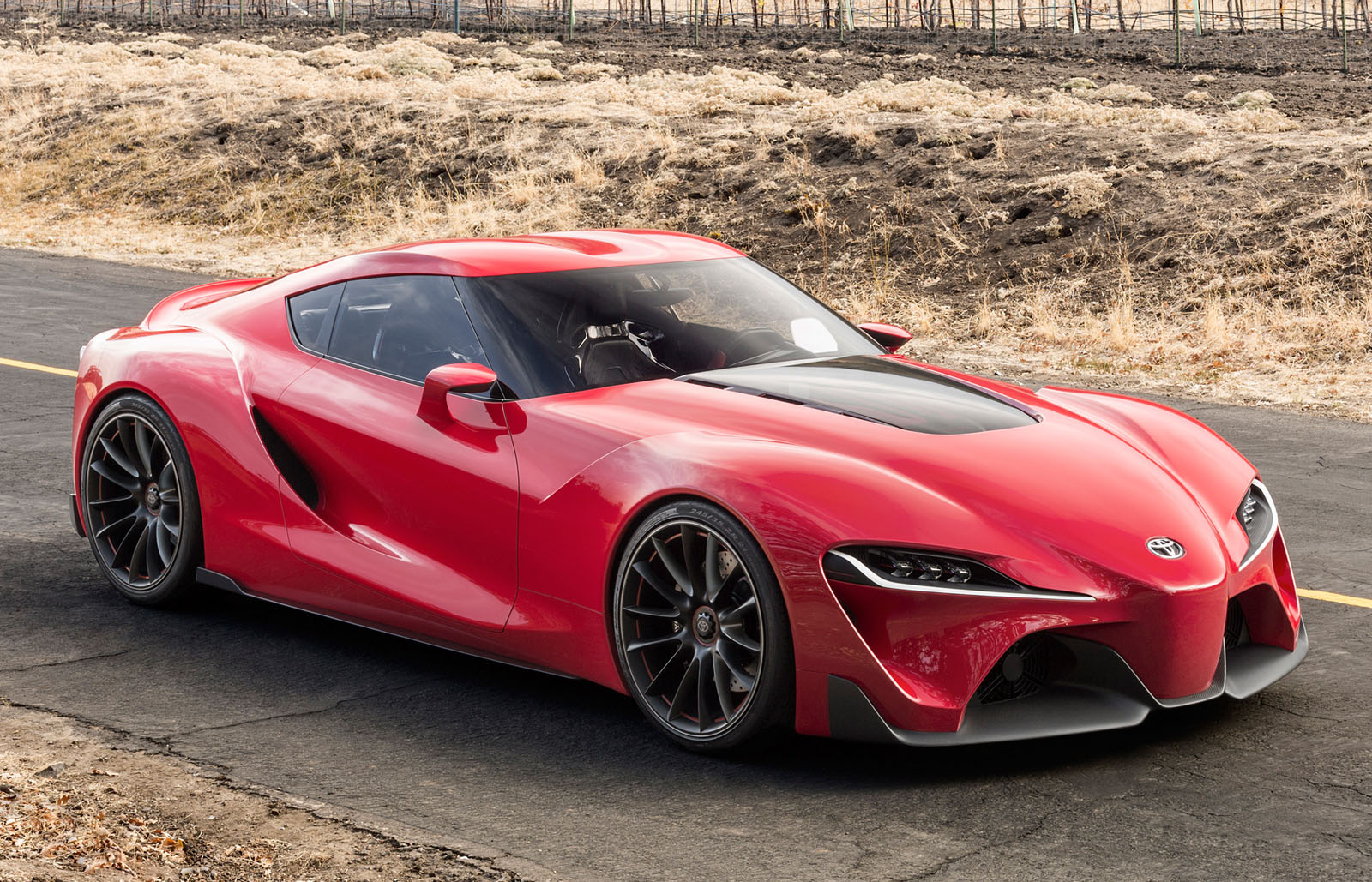 HQ Toyota FT-1 Concept Wallpapers | File 486.43Kb