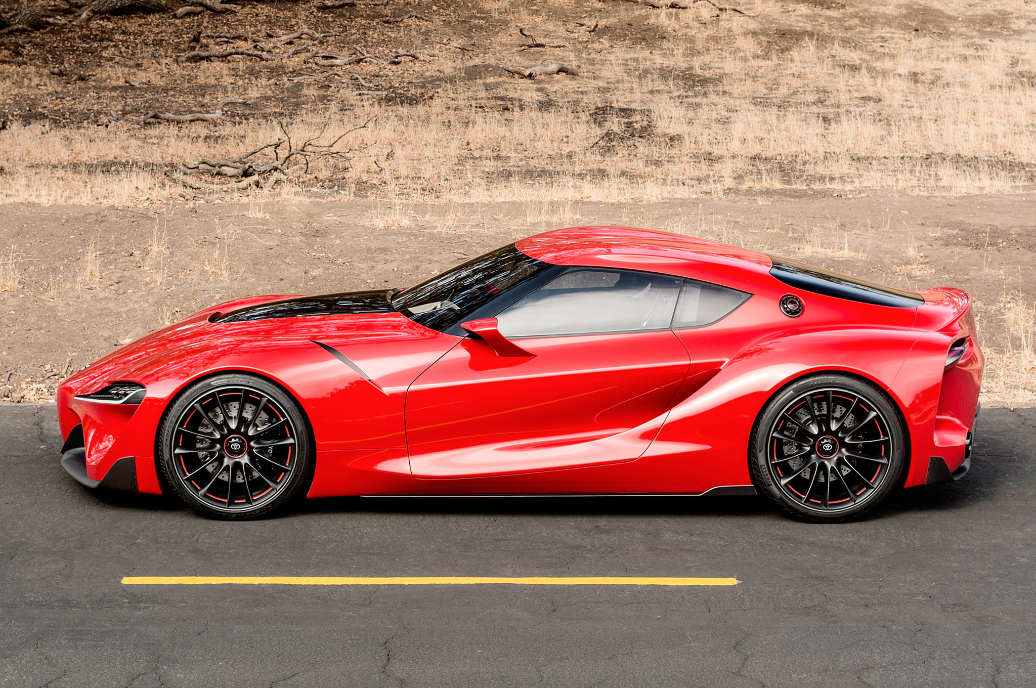 Toyota FT-1 Concept High Quality Background on Wallpapers Vista