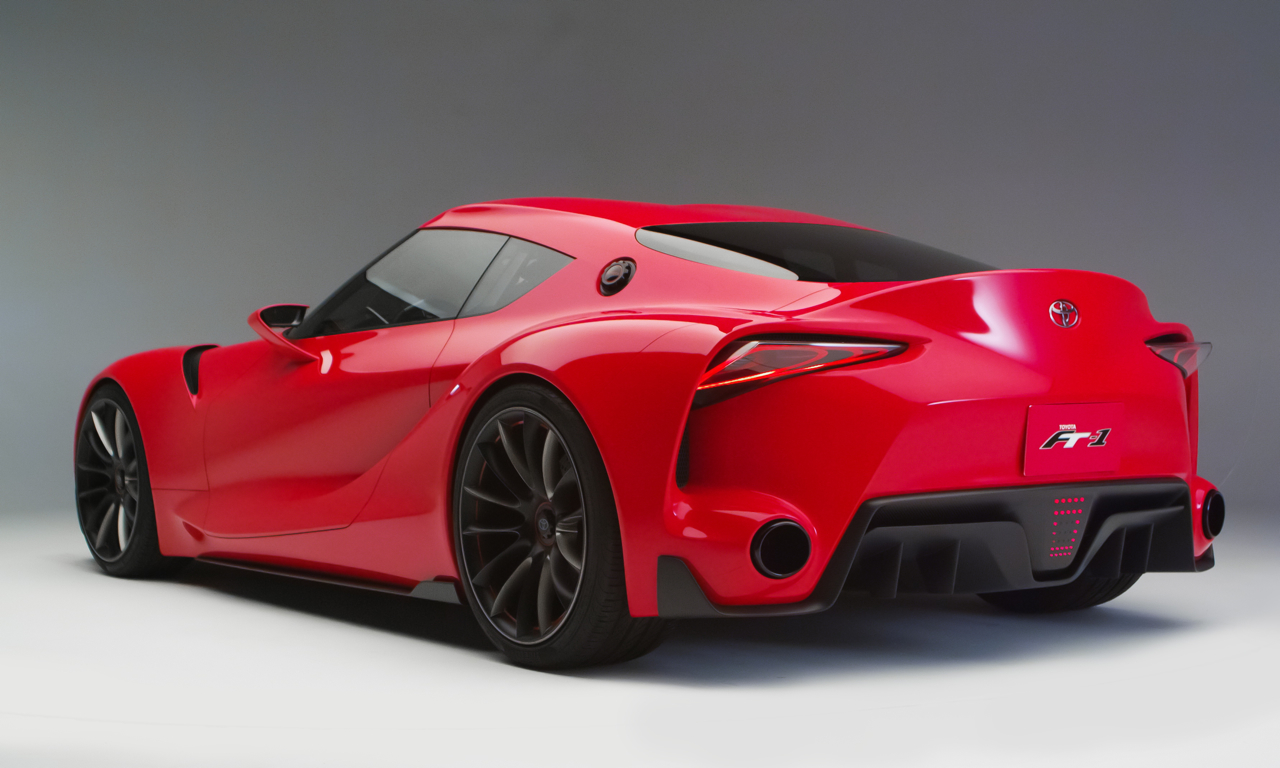 Nice Images Collection: Toyota FT-1 Concept Desktop Wallpapers
