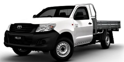 HD Quality Wallpaper | Collection: Vehicles, 480x240 Toyota Hilux