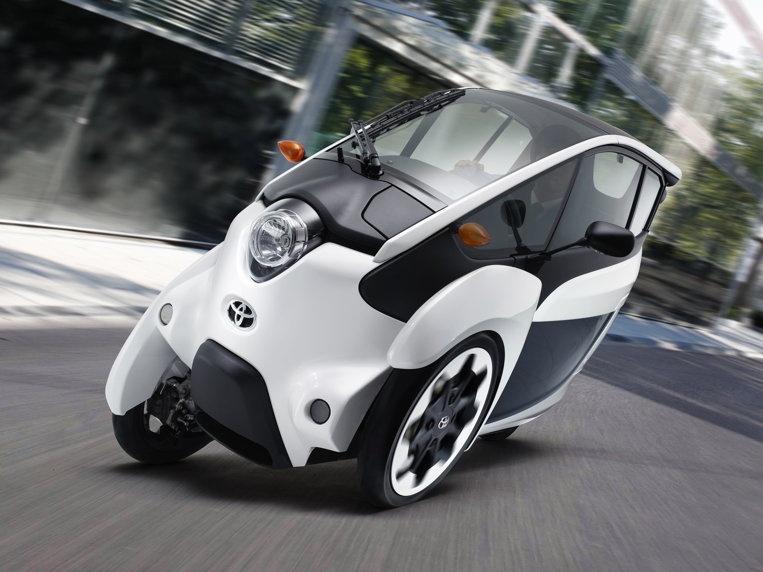 Nice Images Collection: Toyota I-road Desktop Wallpapers