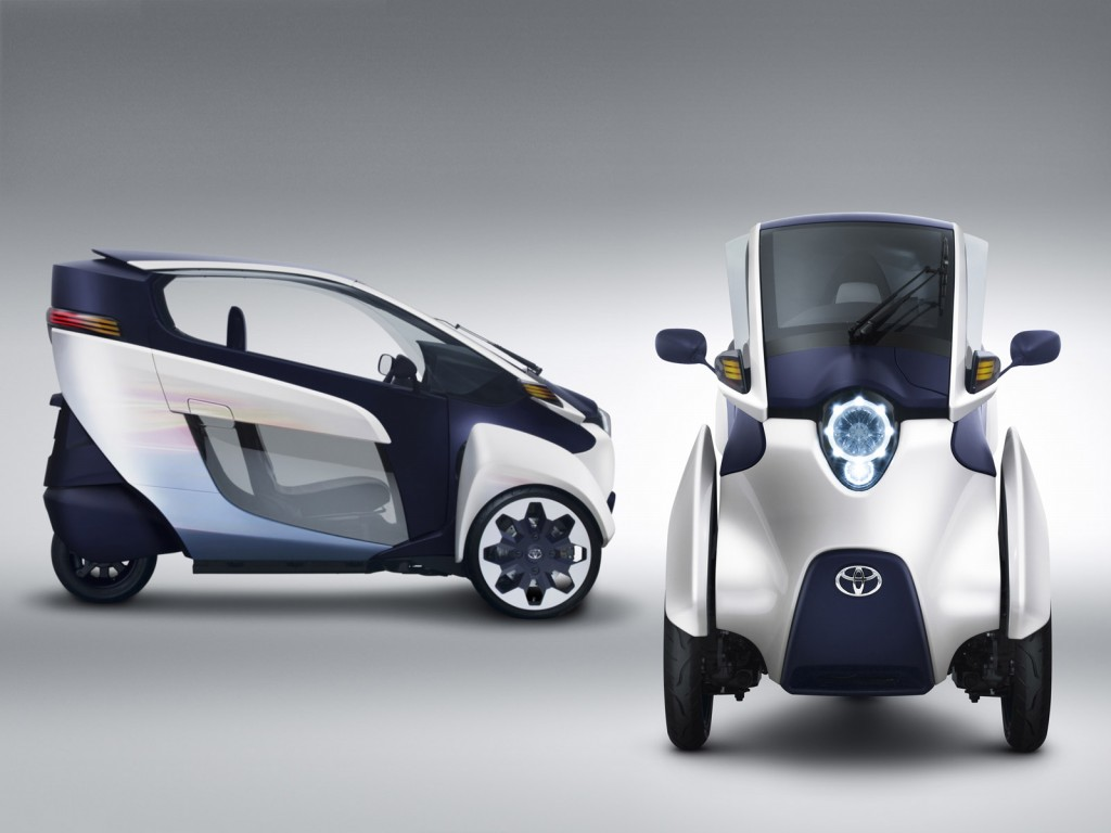 Images of Toyota I-road | 1024x768