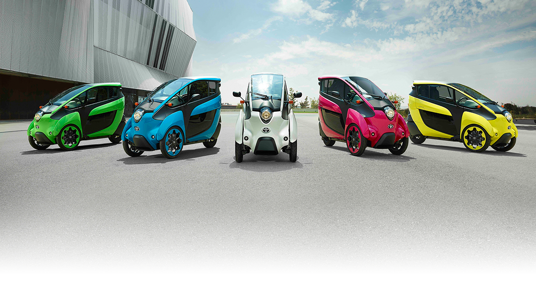 Toyota I-road High Quality Background on Wallpapers Vista