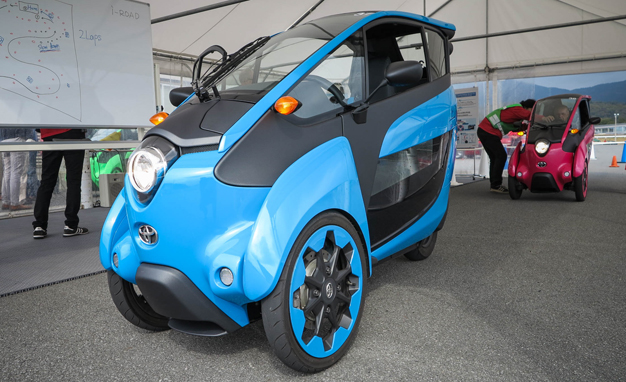 Toyota I-road Pics, Vehicles Collection