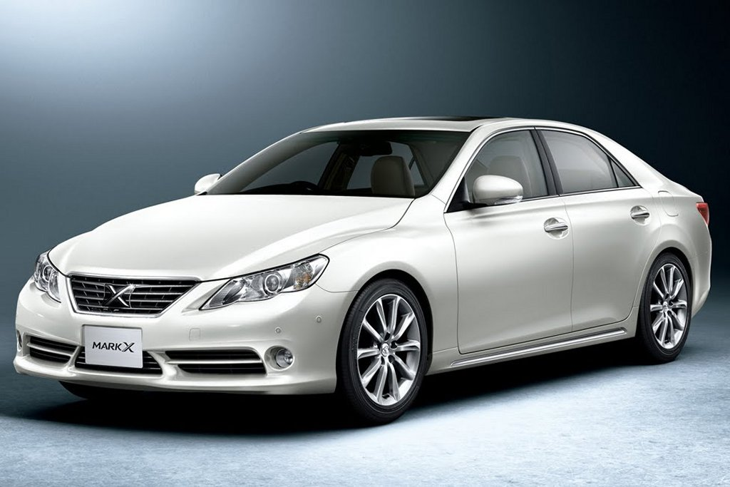 Nice Images Collection: Toyota Mark X Desktop Wallpapers