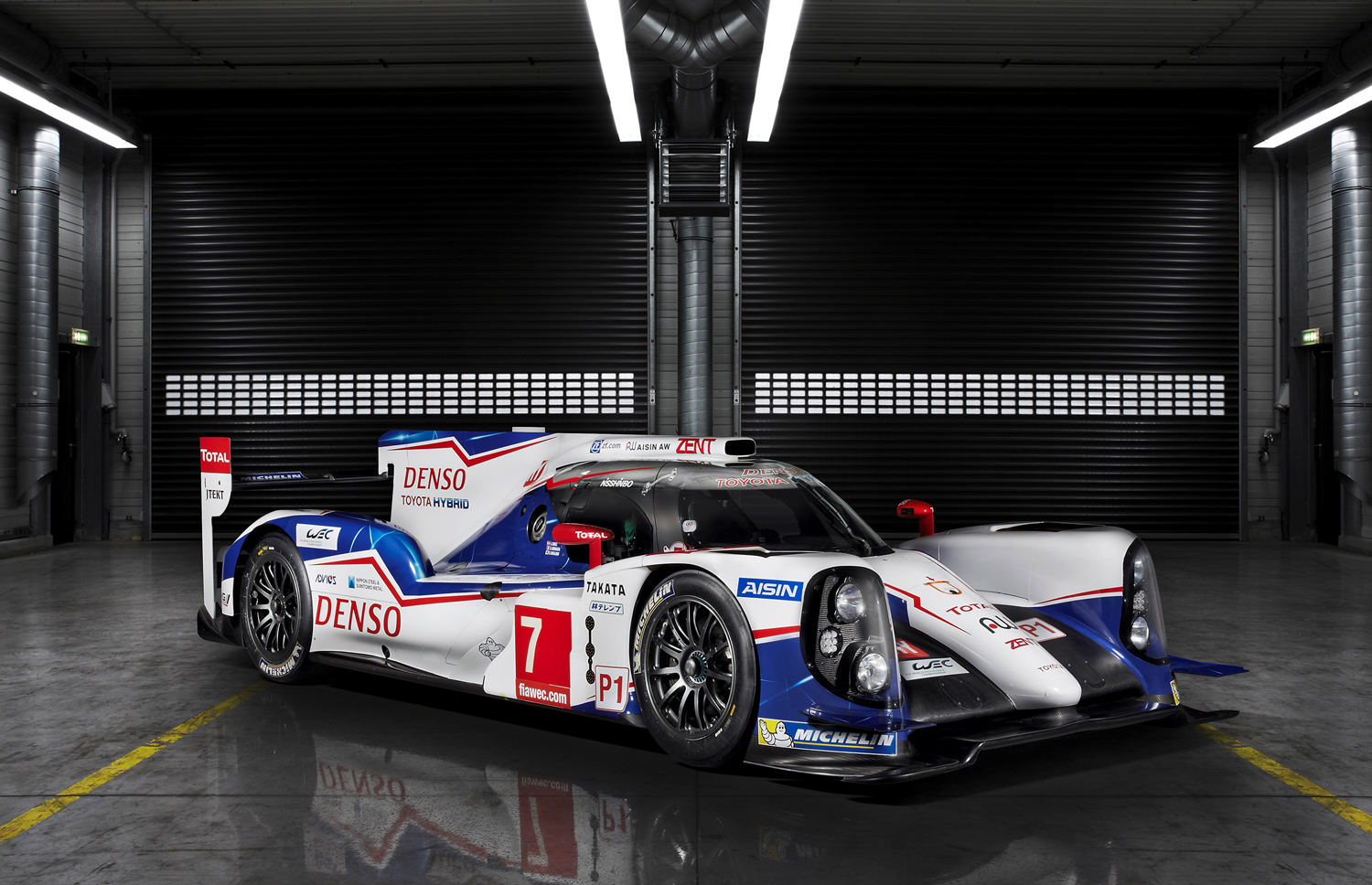 Nice wallpapers Toyota TS040 Hybrid 1500x968px