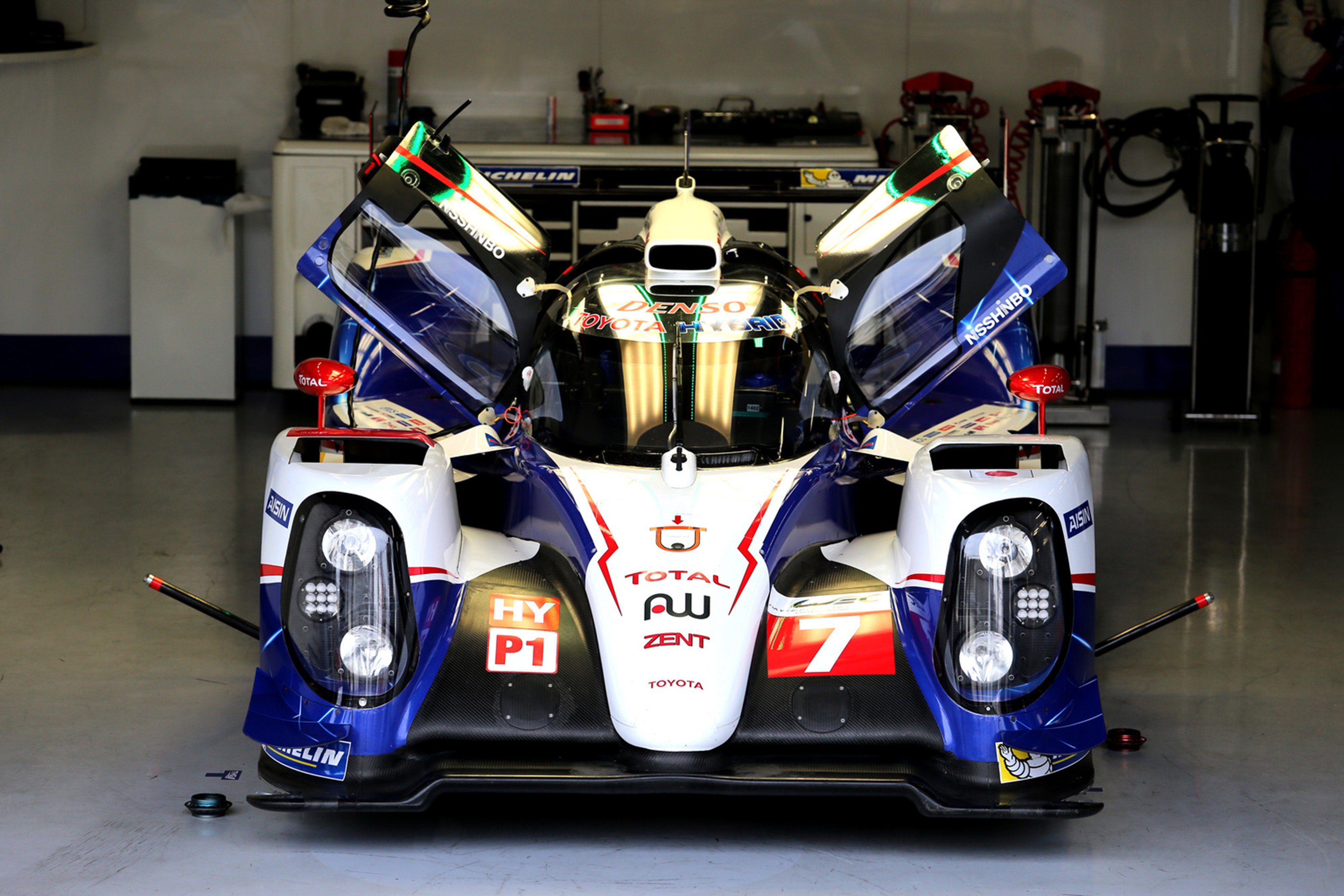 HD Quality Wallpaper | Collection: Vehicles, 4000x2667 Toyota TS040 Hybrid