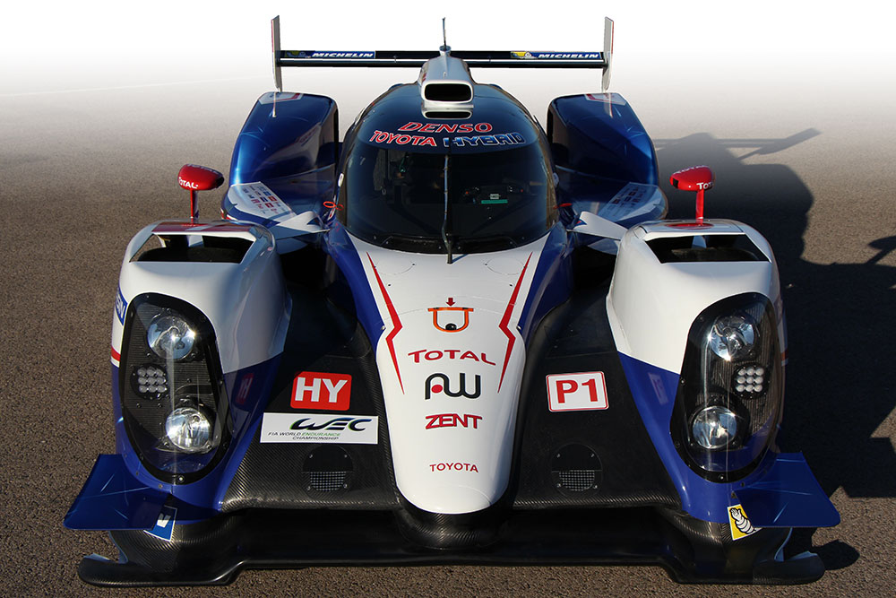 Images of Toyota TS040 Hybrid | 1000x667
