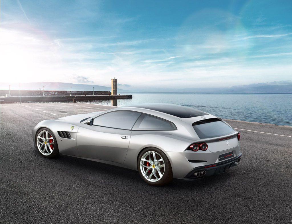 Nice Images Collection: Trainyard Ferrari  Desktop Wallpapers