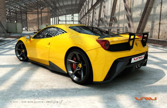 High Resolution Wallpaper | Trainyard Ferrari  541x350 px