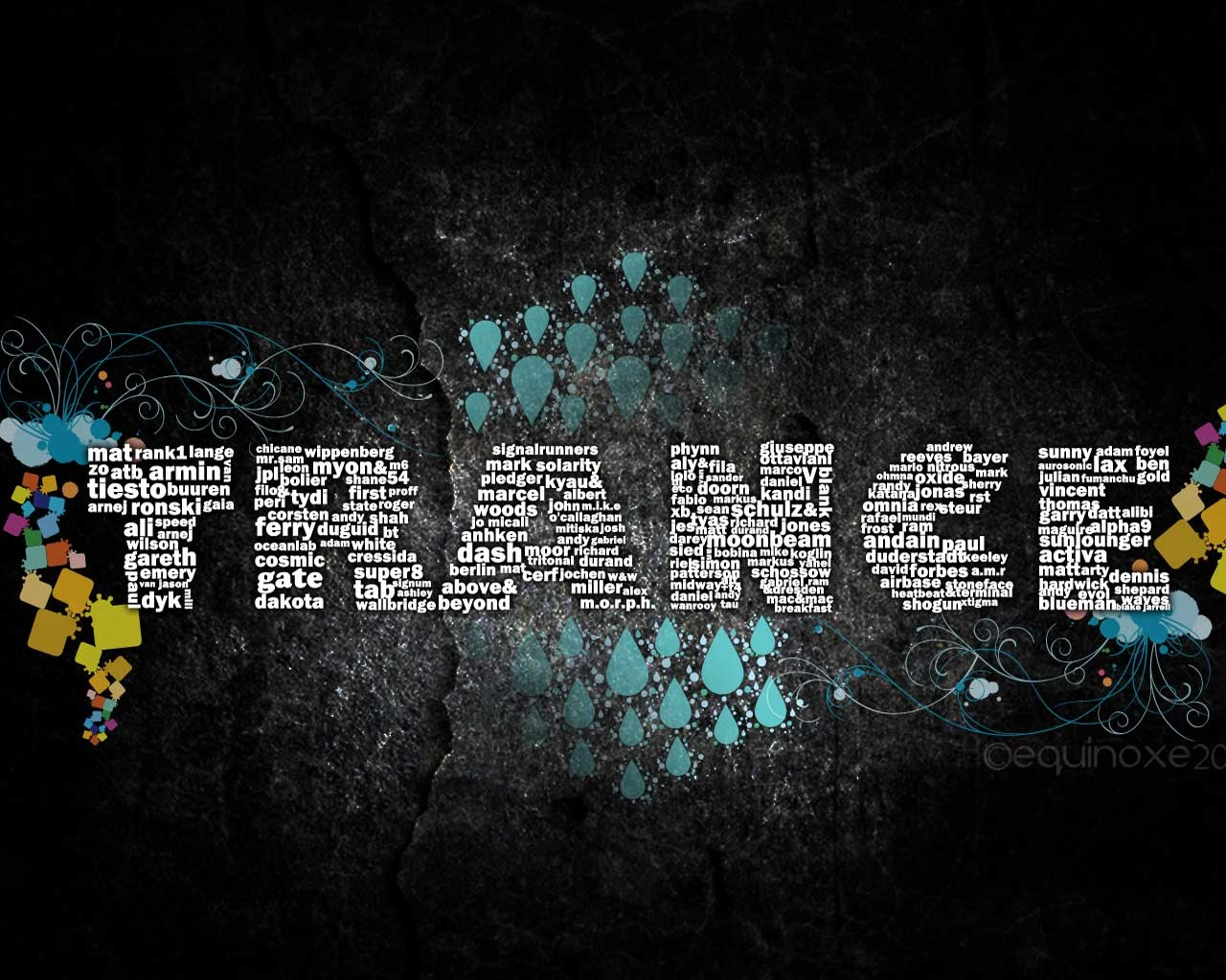 Trance Backgrounds on Wallpapers Vista