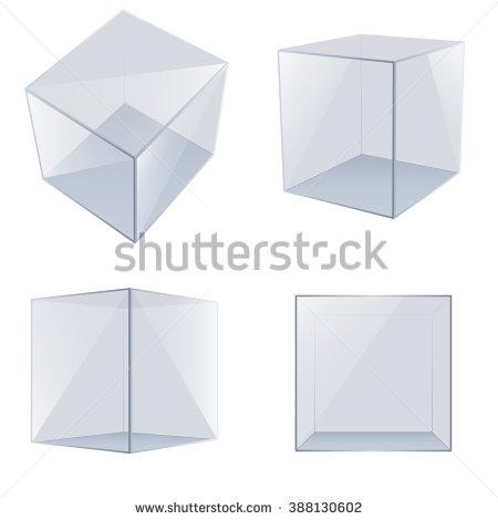 Images of Transparent Cubes   450x470