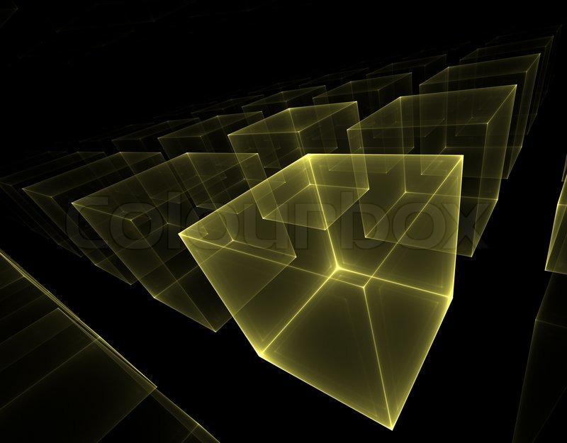 HQ Transparent Cubes Wallpapers   File 61.34Kb