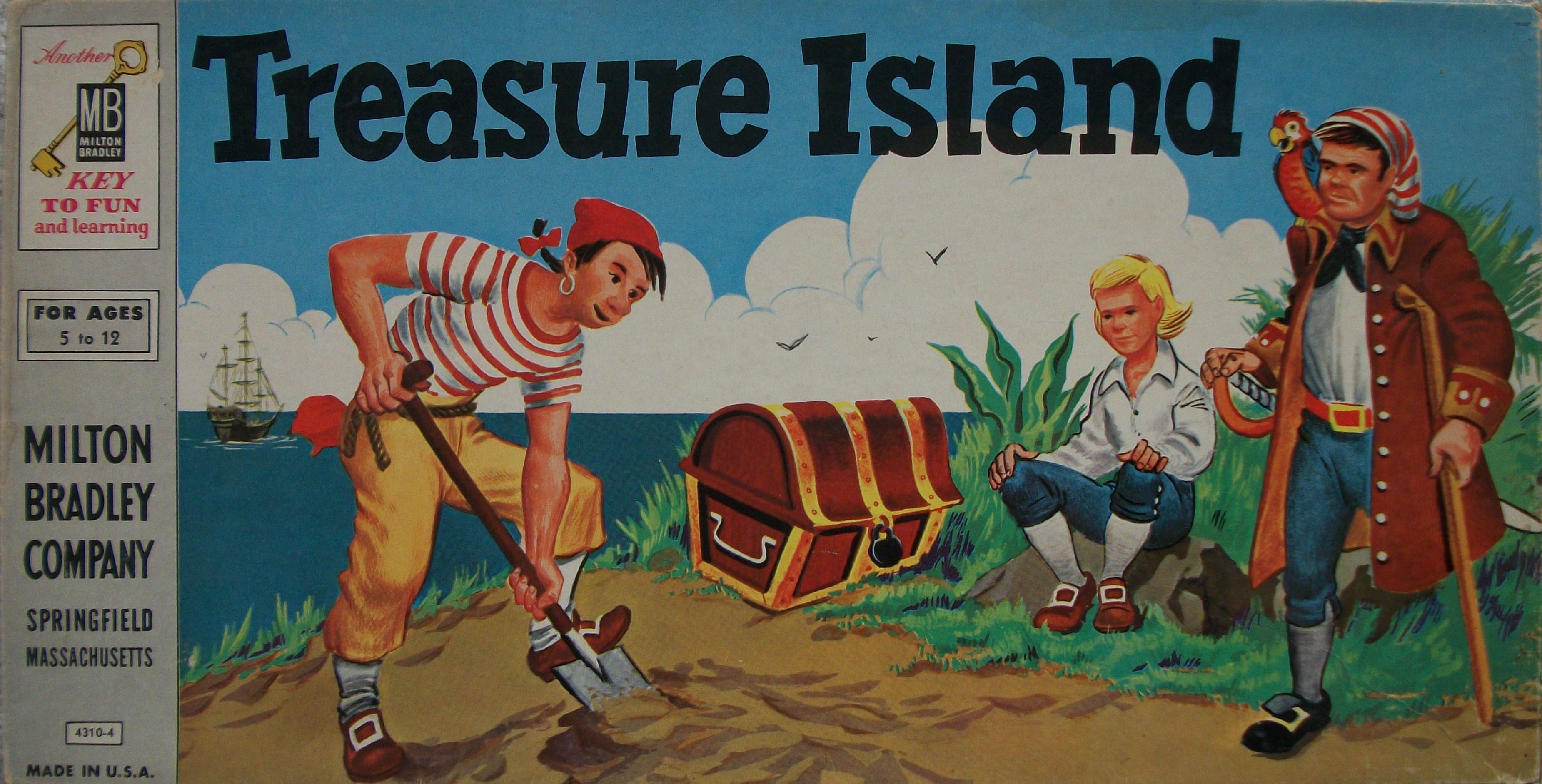 High Resolution Wallpaper | Treasure Island 3702x1883 px