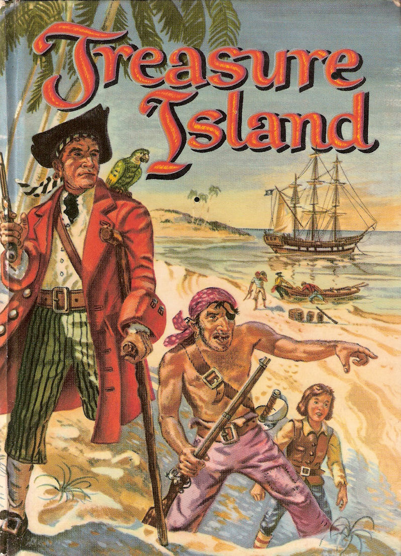 Treasure Island Pics, Comics Collection
