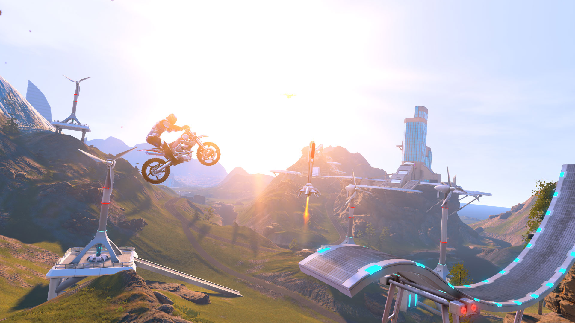 Trials Fusion Backgrounds, Compatible - PC, Mobile, Gadgets| 1920x1080 px