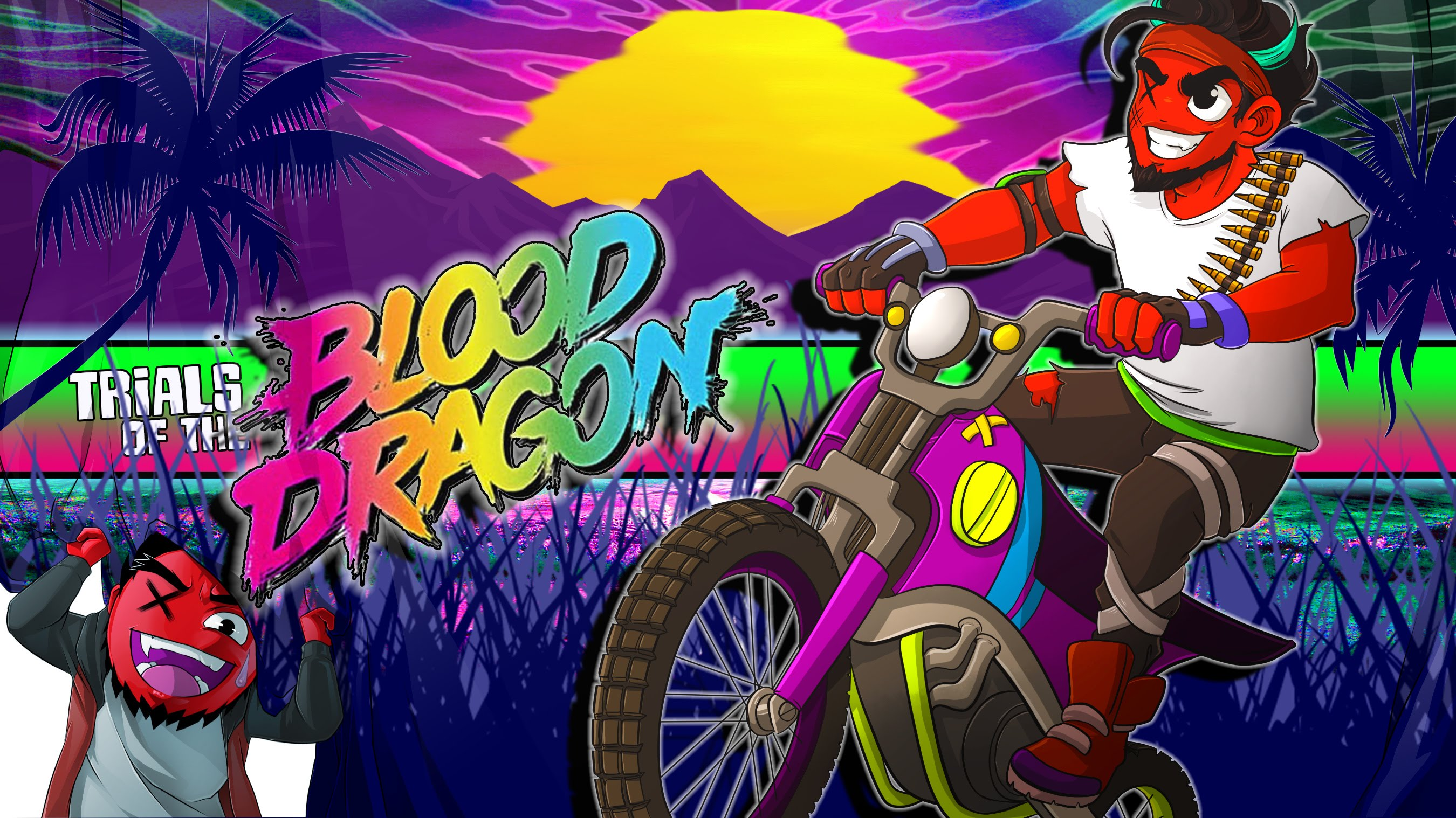 Trials Of The Blood Dragon High Quality Background on Wallpapers Vista