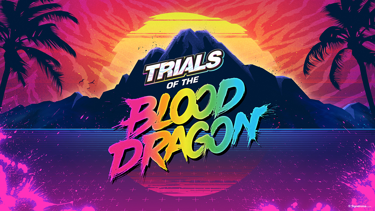 High Resolution Wallpaper | Trials Of The Blood Dragon 1200x675 px