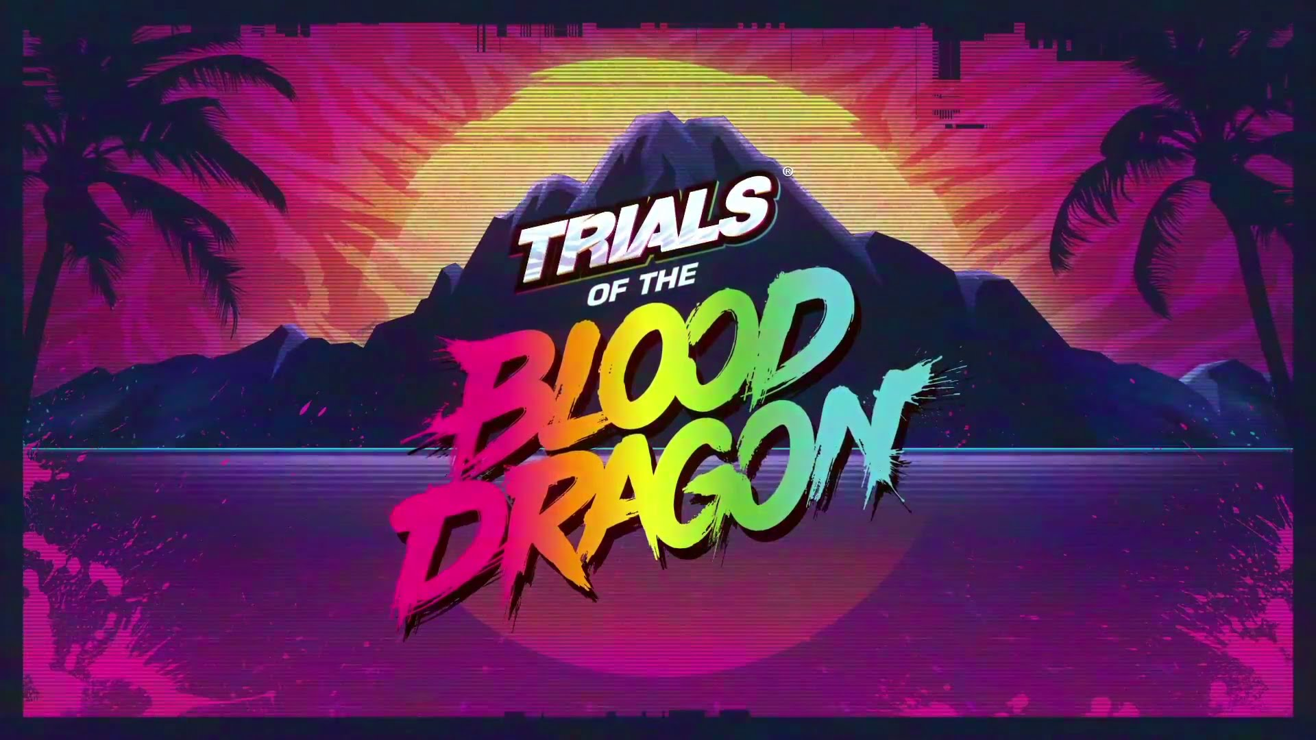 High Resolution Wallpaper | Trials Of The Blood Dragon 1920x1080 px