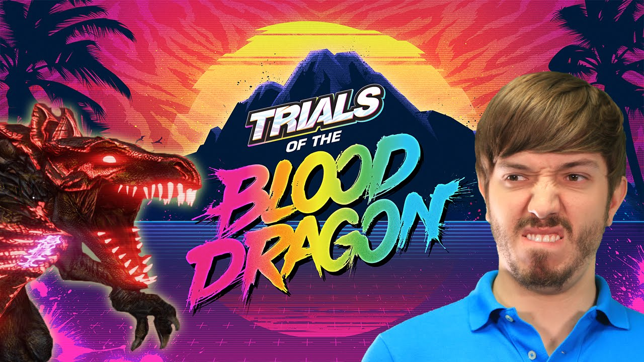 Nice wallpapers Trials Of The Blood Dragon 1280x720px