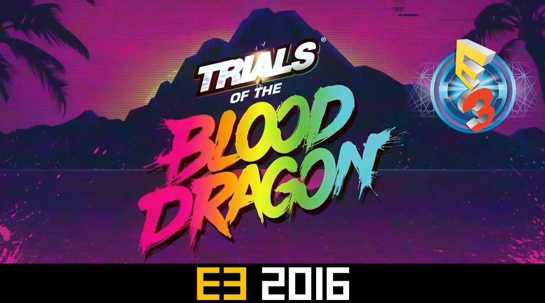 High Resolution Wallpaper | Trials Of The Blood Dragon 1080x600 px
