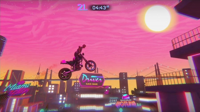 Trials Of The Blood Dragon Backgrounds, Compatible - PC, Mobile, Gadgets| 695x390 px