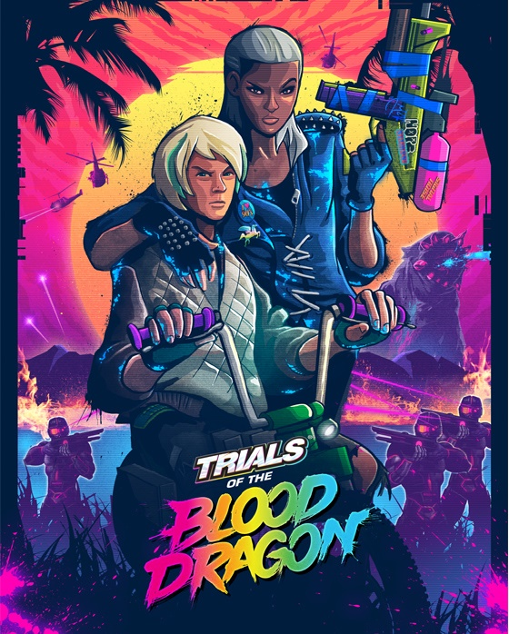Images of Trials Of The Blood Dragon | 560x698