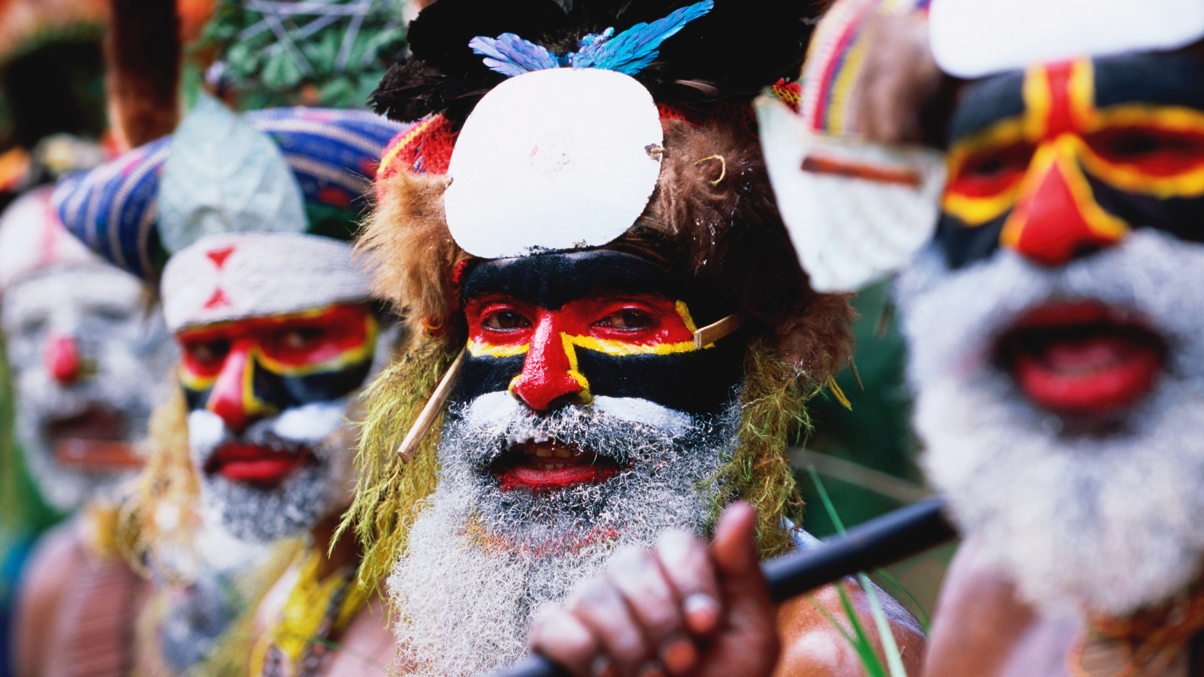 Nice Images Collection: Tribes Desktop Wallpapers