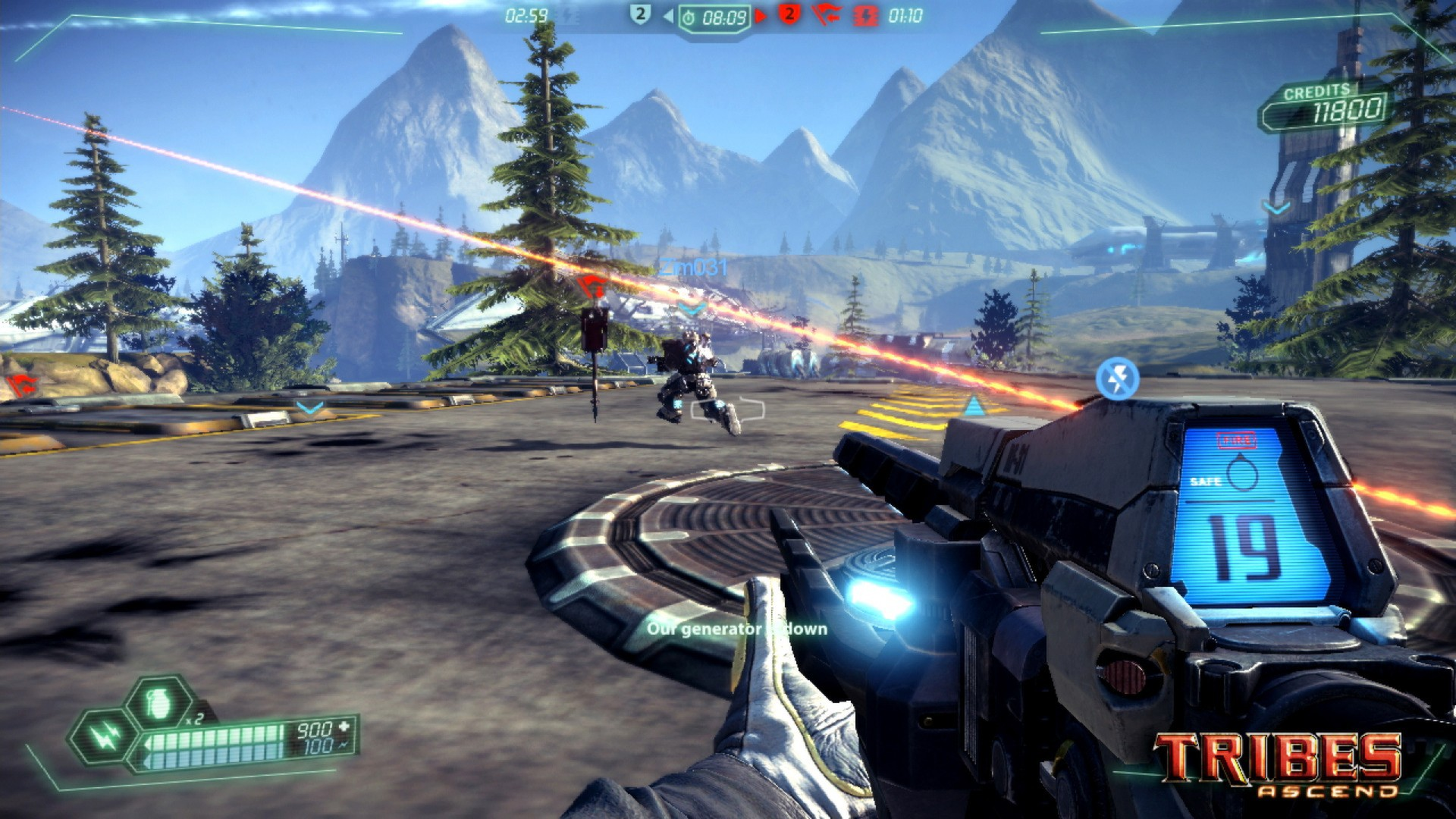 Nice wallpapers Tribes Ascend 1920x1080px