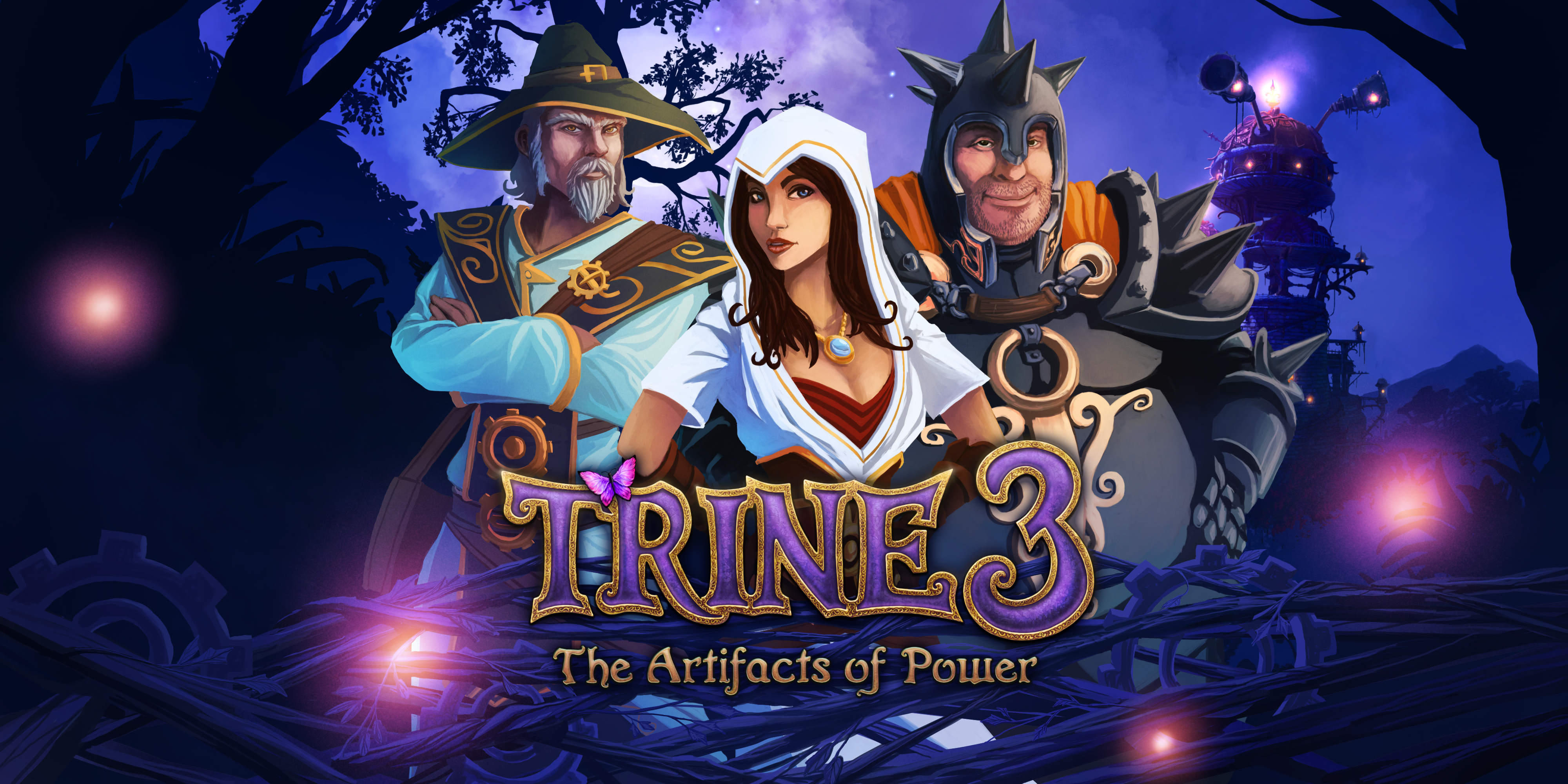 High Resolution Wallpaper | Trine 3: The Artifacts Of Power 4000x2000 px