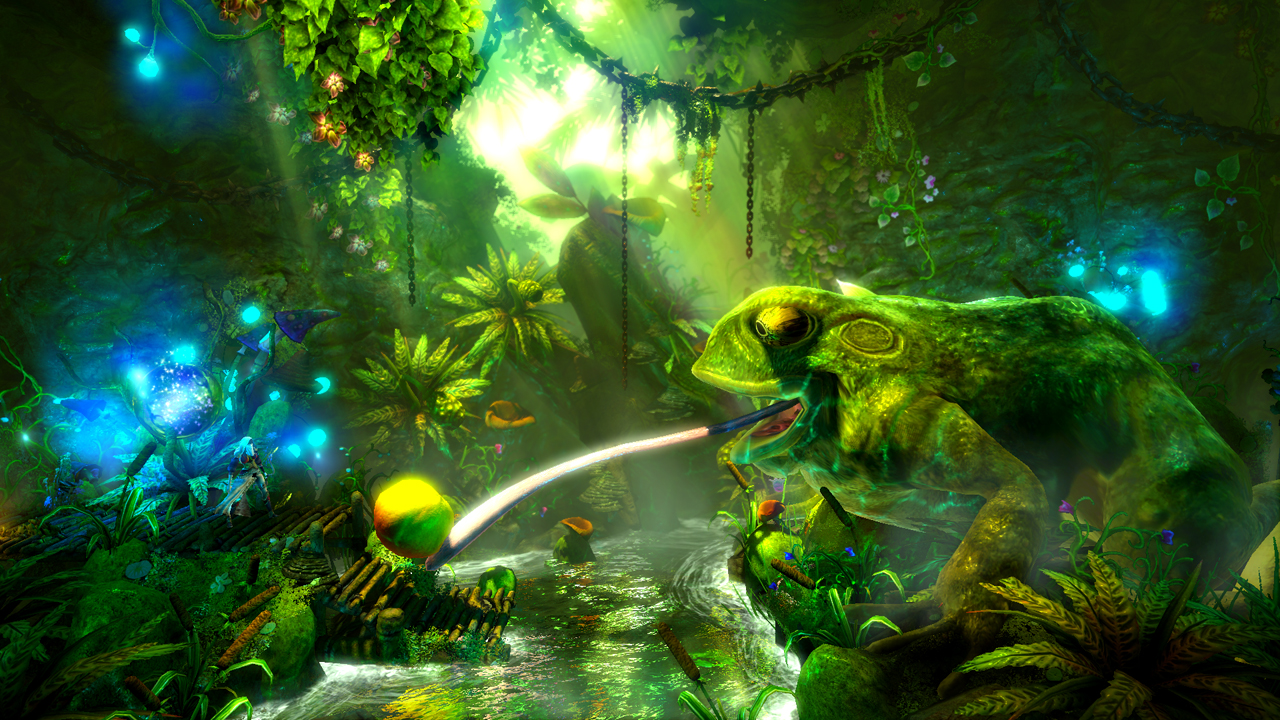 Trine Pics, Video Game Collection