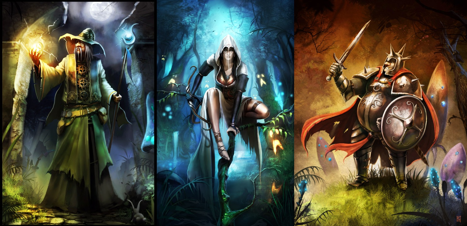 HD Quality Wallpaper | Collection: Video Game, 1486x718 Trine
