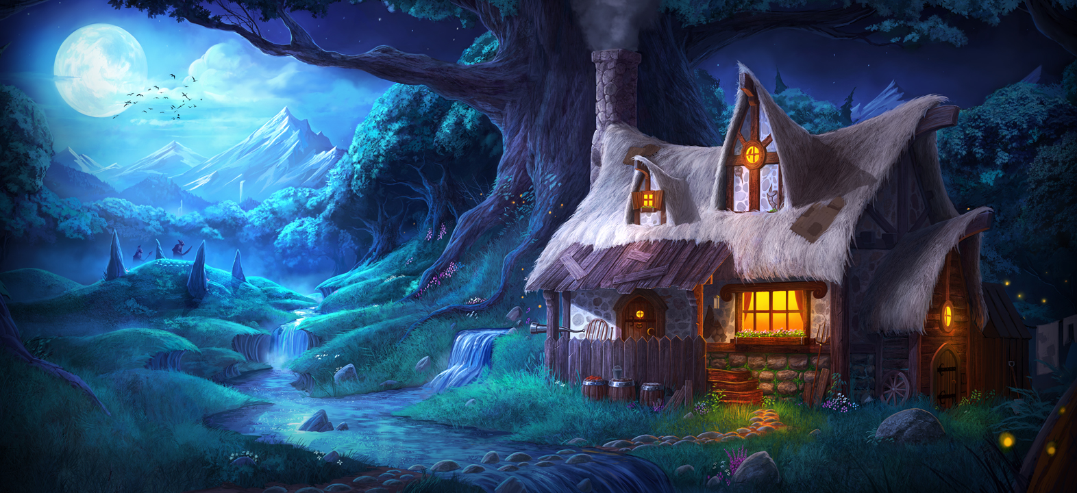 Nice Images Collection: Trine Desktop Wallpapers