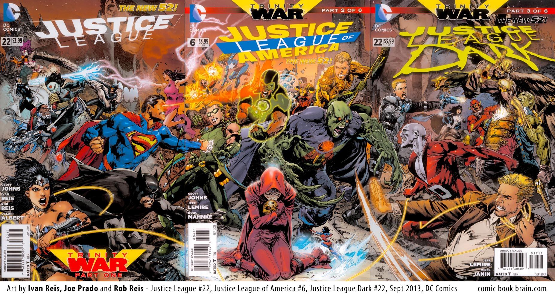 Trinity War Wallpapers Comics Hq Trinity War Pictures 4k