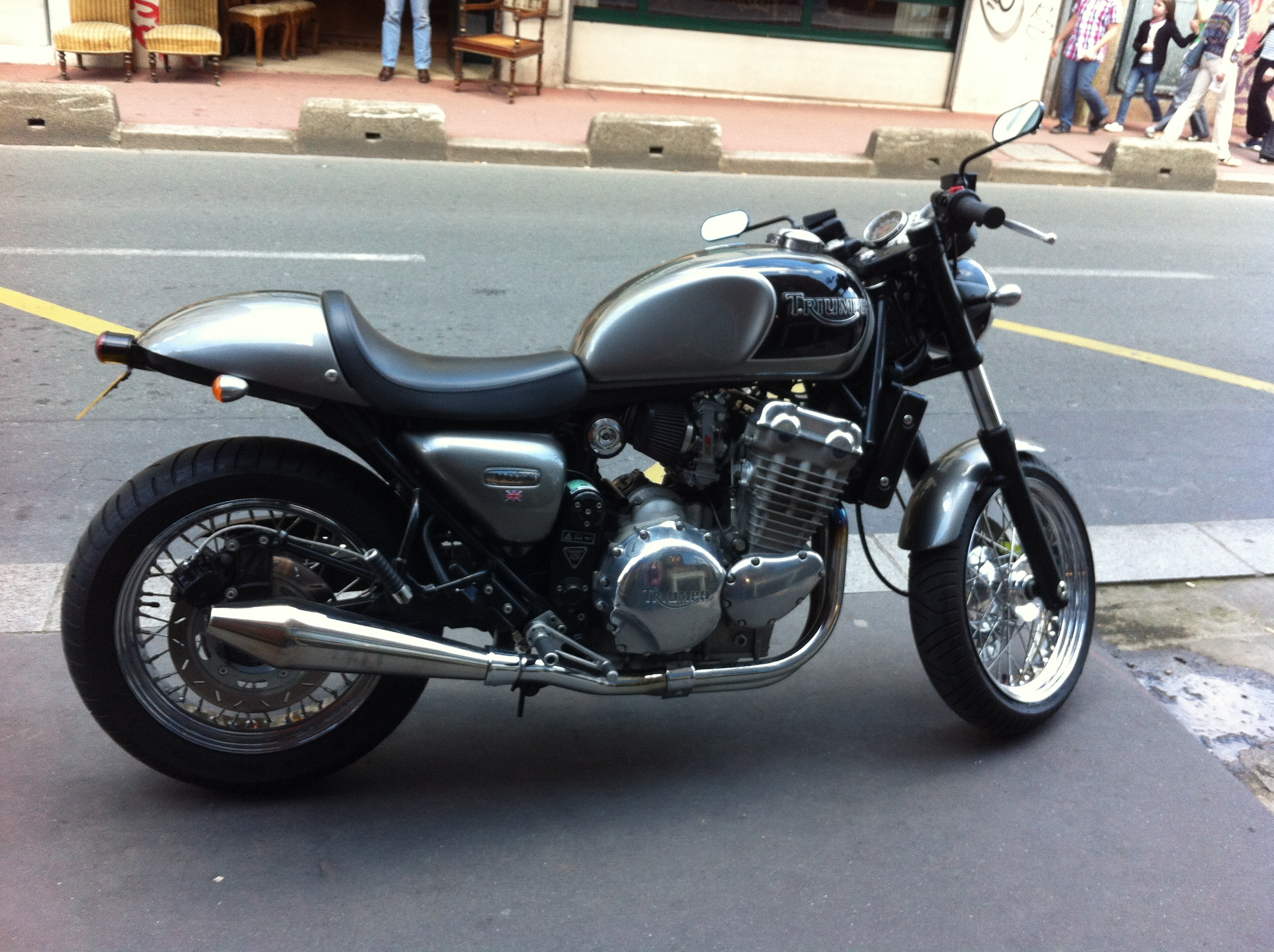 Triumph Thunderbird Cafe Racer wallpapers, Vehicles, HQ