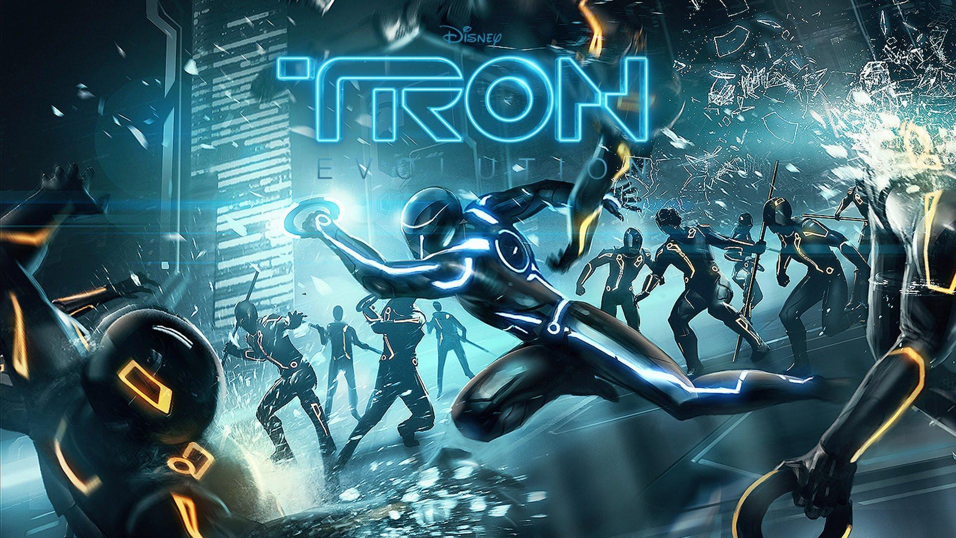 Tron: Evolution Backgrounds, Compatible - PC, Mobile, Gadgets| 1920x1080 px