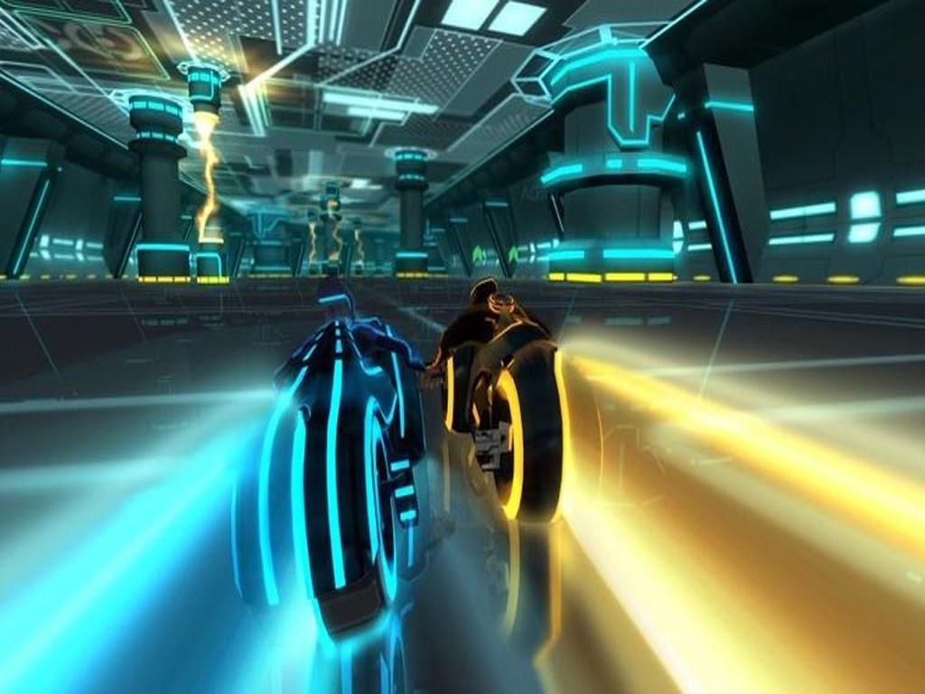 Tron: Evolution Backgrounds, Compatible - PC, Mobile, Gadgets| 1024x768 px