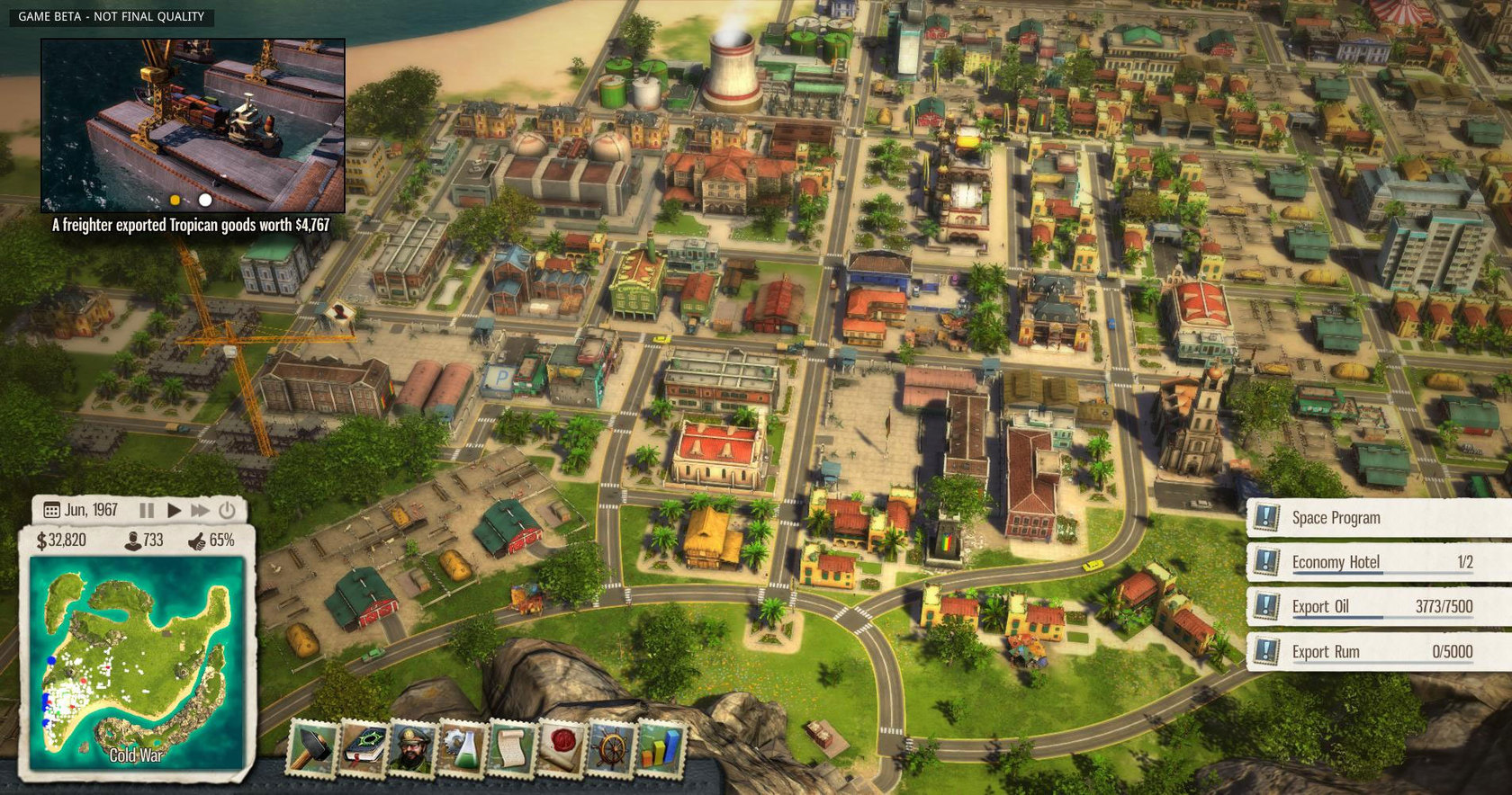 Nice Images Collection: Tropico Desktop Wallpapers