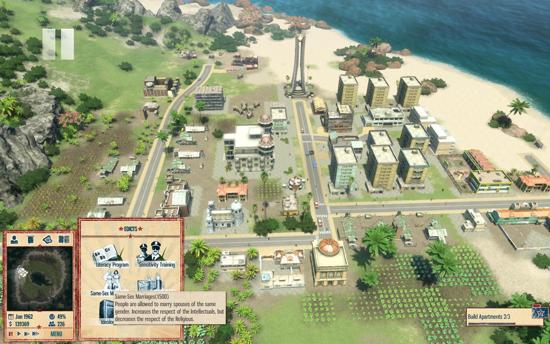 HD Quality Wallpaper | Collection: Video Game, 1920x1200 Tropico 4