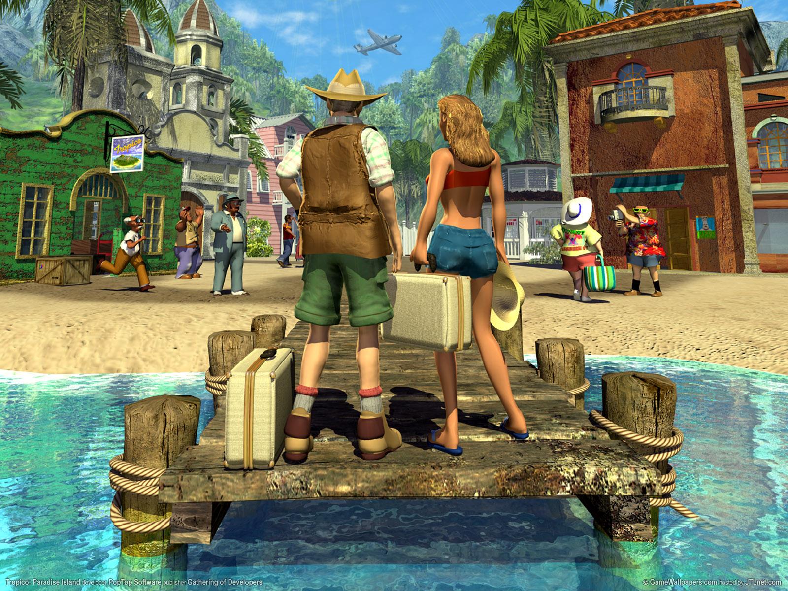 Tropico Backgrounds, Compatible - PC, Mobile, Gadgets| 1600x1200 px
