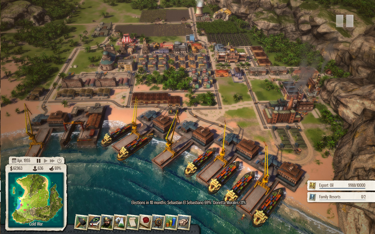 HD Quality Wallpaper | Collection: Video Game, 1280x800 Tropico